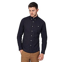 Red Herring - Big and tall navy button down oxford shirt