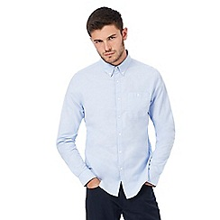 Red Herring - Big and tall light blue button down oxford shirt
