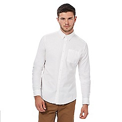 Red Herring - White button down Oxford shirt