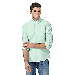 Red Herring - Pale green slim fit Oxford shirt
