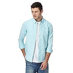 Red Herring - Light blue slim fit Oxford shirt