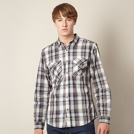 FFP - Grey checked two pocket shirt