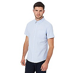 Red Herring - Light blue button down short sleeve Oxford shirt