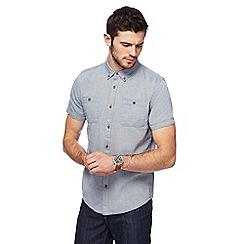 Red Herring - Blue speckled short sleeve shirt