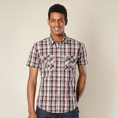 FFP - Red and grey checked shirt