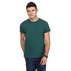 Red Herring - Dark green slim fit t-shirt