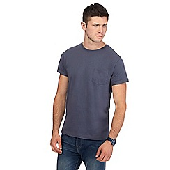 Red Herring - Big and tall dark grey slim fit t-shirt