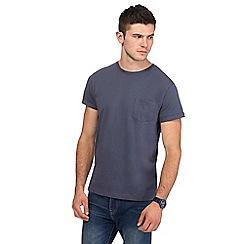Red Herring - Dark grey slim fit t-shirt