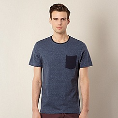 Red Herring - Navy pocket plain t-shirt
