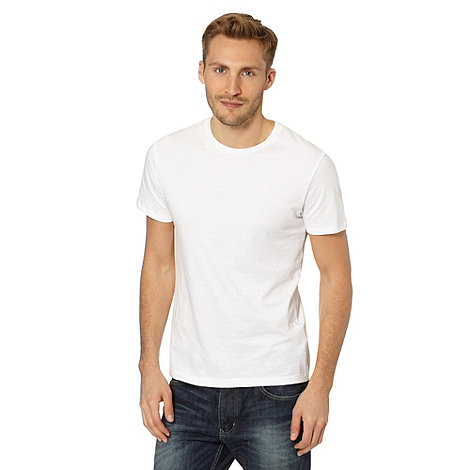 Red Herring - White plain crew neck t-shirt