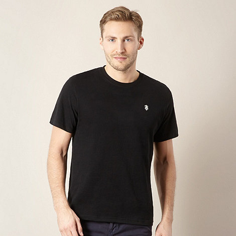 St George by Duffer - Black plain logo t-shirt