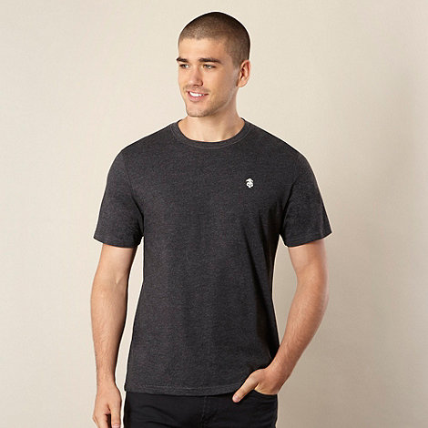 St George by Duffer - Dark grey plain logo t-shirt