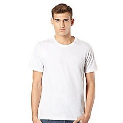 St George by Duffer - Big & Tall white embroidered logo t-shirt