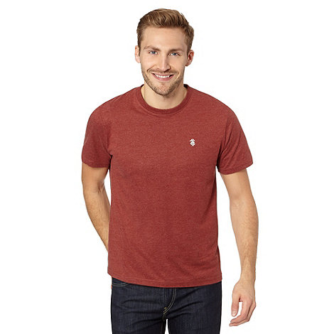 St George by Duffer - Rust crew neck logo t-shirt