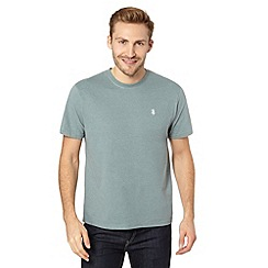St George by Duffer - Light green crew neck t-shirt