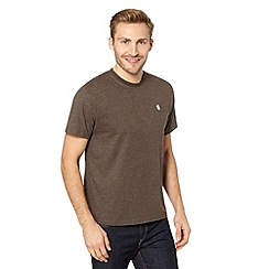 St George by Duffer - Brown crew neck t-shirt
