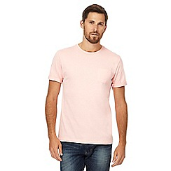 Red Herring - Big and tall pink crew neck t-shirt