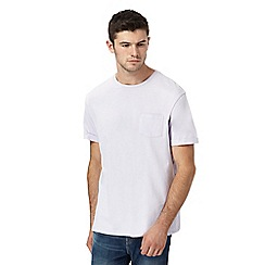 Red Herring - Lilac pocket slim fit t-shirt
