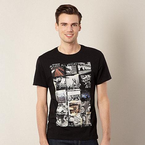 FFP - Black +Access All Areas+ photo print t-shirt