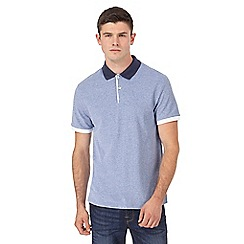 Red Herring - Big and tall light blue slim fit polo shirt