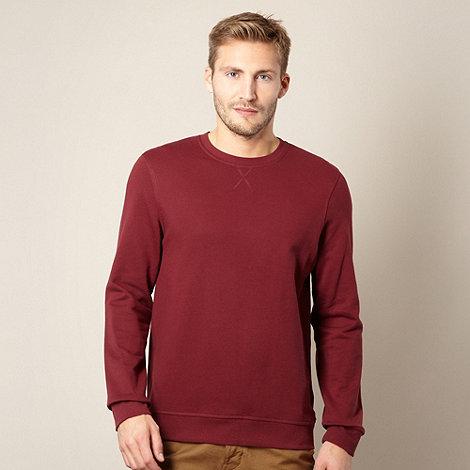 Red Herring - Maroon crew neck sweatshirt