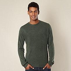 Red Herring - Dark green knit jumper