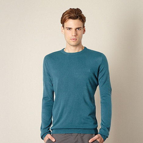 Red Herring - Dark turquoise crew neck jumper