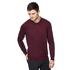 Red Herring - Wine red polo top
