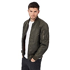 Red Herring - Khaki bomber jacket