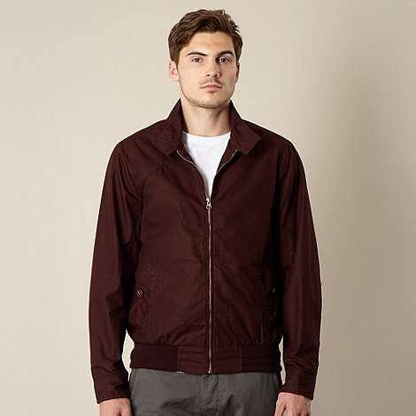 Red Herring - Dark red harrington jacket