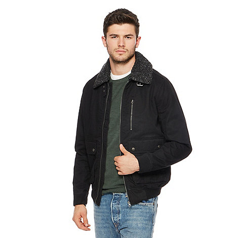 Red Herring - Black harrington jacket