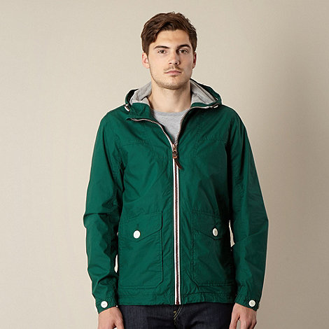 Red Herring - Dark green hooded hiking jacket
