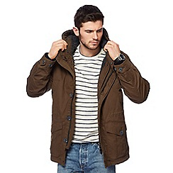 Red Herring - Khaki parka coat