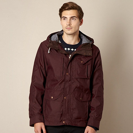 Red Herring - Dark purple lightweight jacket