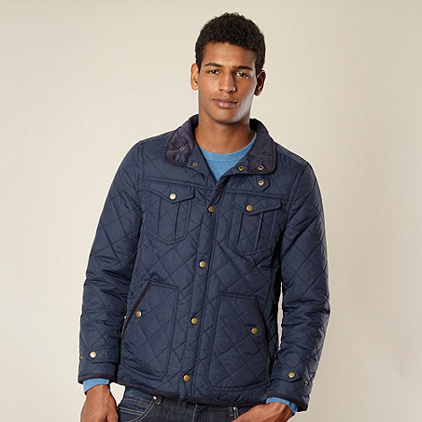 Red Herring - Navy quilted jacket