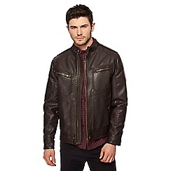 Red Herring - Brown biker jacket
