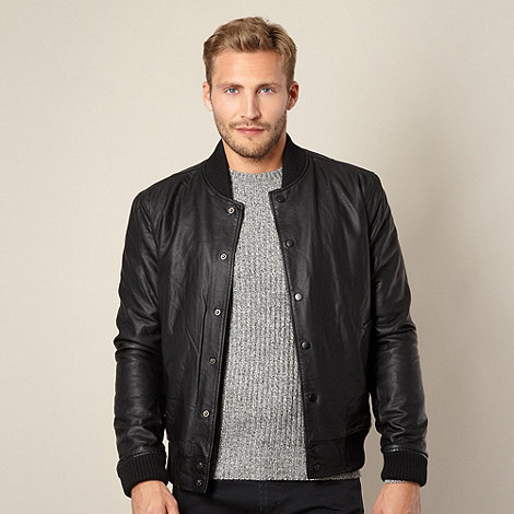Red Herring - Black bomber jacket