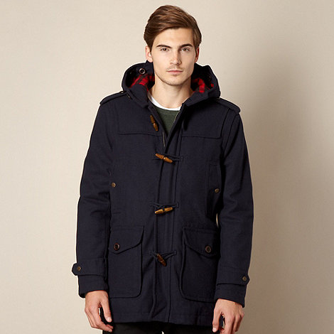 Red Herring - Hooded wool duffle jacket