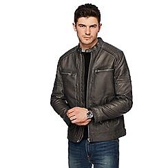 Red Herring - Grey biker jacket
