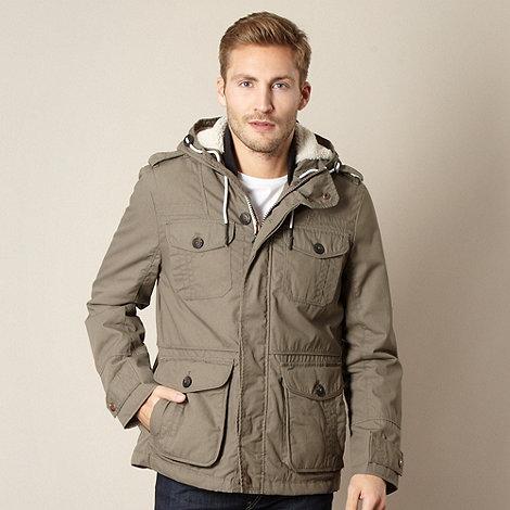 FFP - Olive borg hood parka jacket