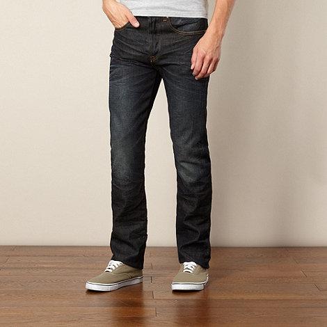 St George by Duffer - Dark blue straight leg jeans