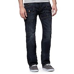 FFP - Navy straight leg utility jeans