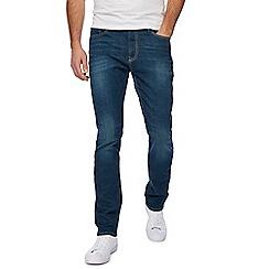 Red Herring - Blue vintage wash slim fit jeans