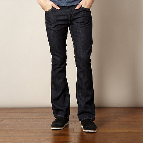 Red Herring - Navy bootcut jeans