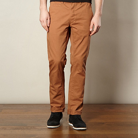 Red Herring - Camel slim fit chinos