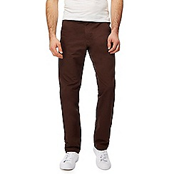 Red Herring - Brown straight leg trousers