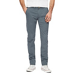 Red Herring - Dark turquoise skinny chinos
