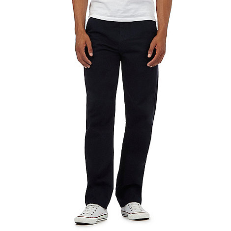St George by Duffer - Navy twill chinos