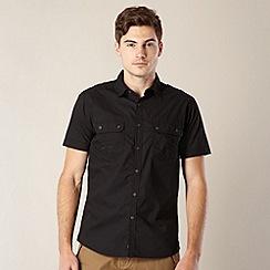FFP - Black short sleeved plain shirt