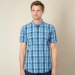 Red Herring - Bright blue checked shirt
